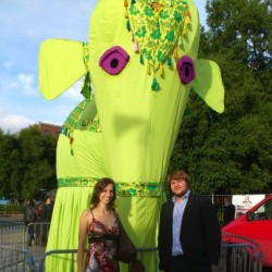 Andi & Tobi & the Big Green Elephant