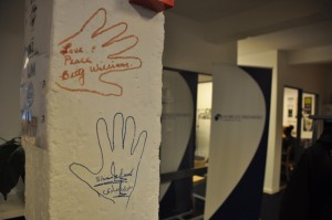 2 nobel peace prize winners left their handmarks in the fredshuset