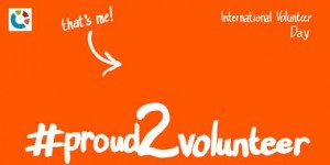 #proud2volunteer
