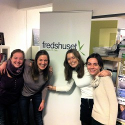 volunteers in the fredshuset